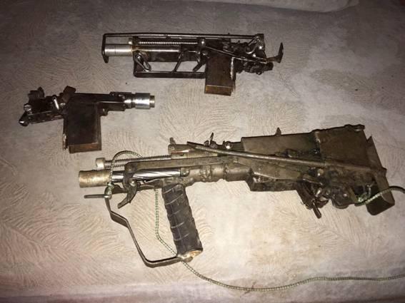 В Одессе у убитого в перестрелке с полицией нашли станок и арсенал самодельного оружия