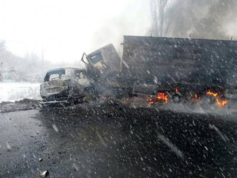 Экс-глава Николаевского облсовета сгорел в жуткой аварии