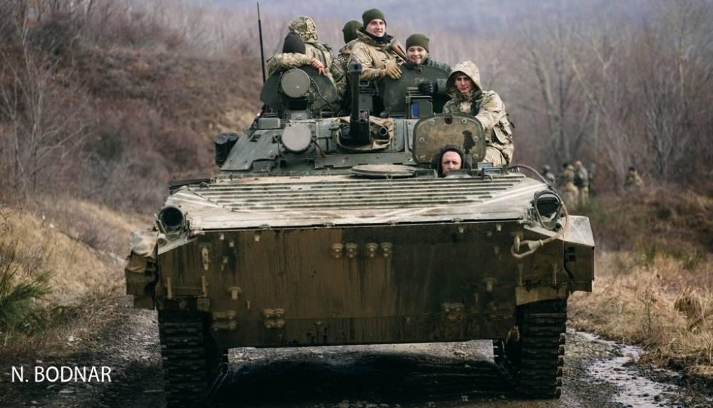В бронемашинах 128-й горной бригады незаконно перевозили арсенал оружия