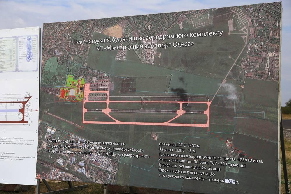 Взлетную полосу одесского аэропорта строят из ворованных материалов