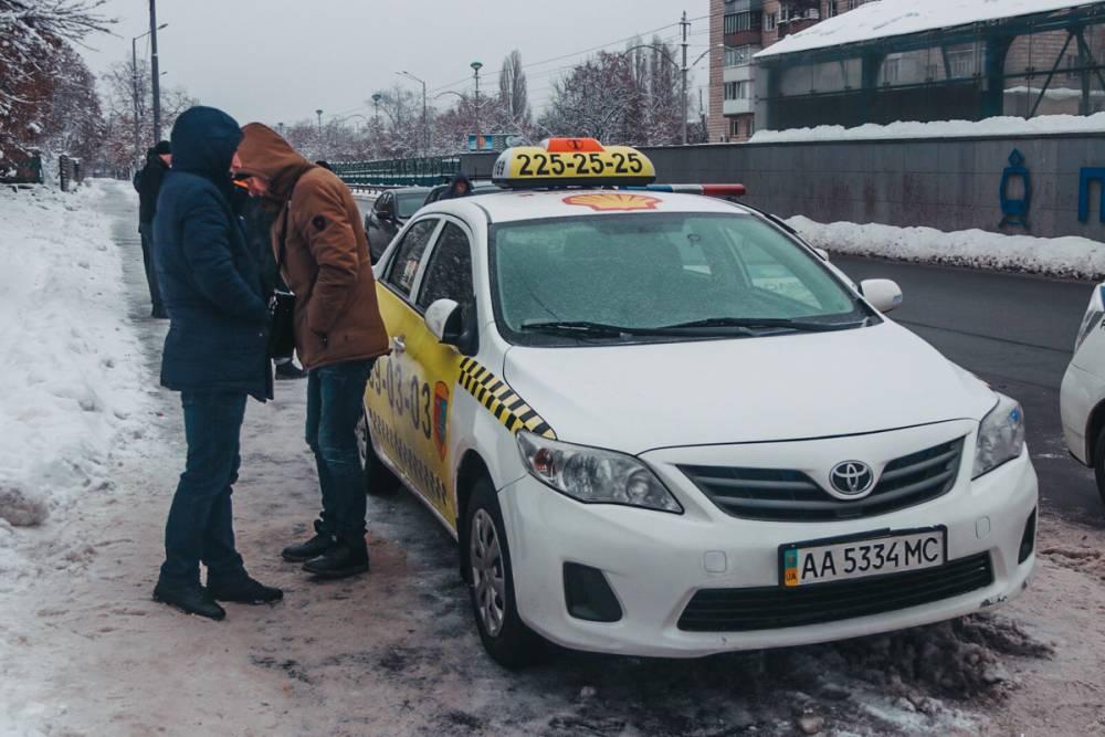 В Киеве пьяный офицер СБУ угнал такси