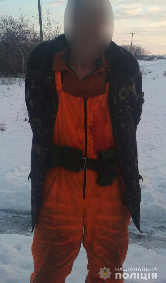 Сельчанин бросил гранату в запорожских полицейских