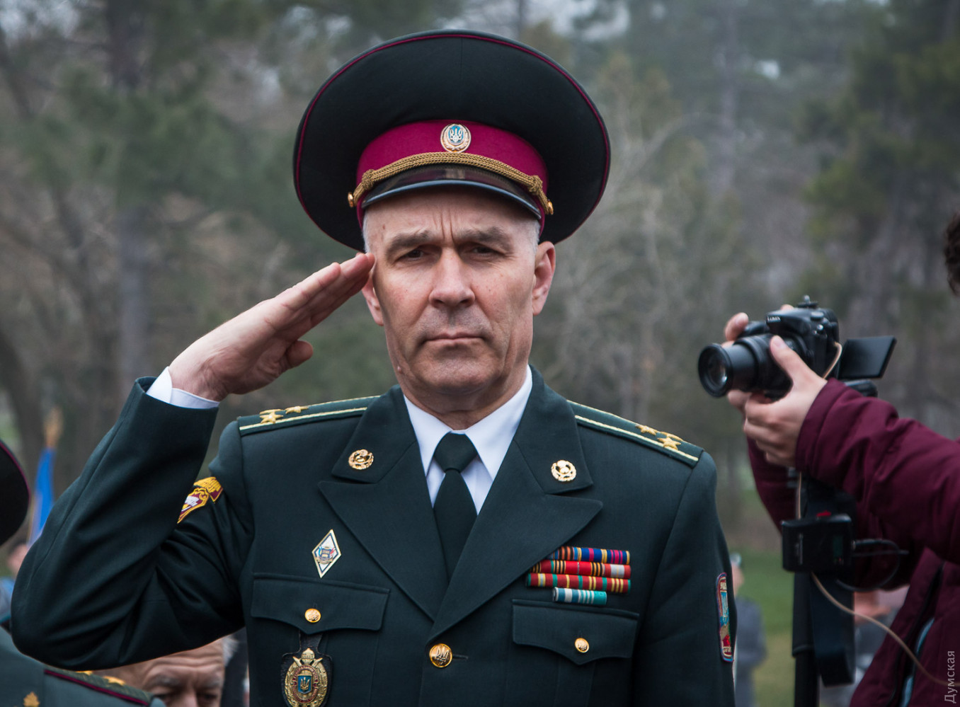 Пятая колонна: одесский военком купил имущество в Крыму