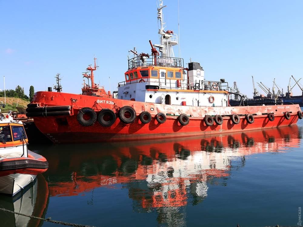 Морская поисково-спасательная служба попала в скандал с ремонтом буксира «Витязь»