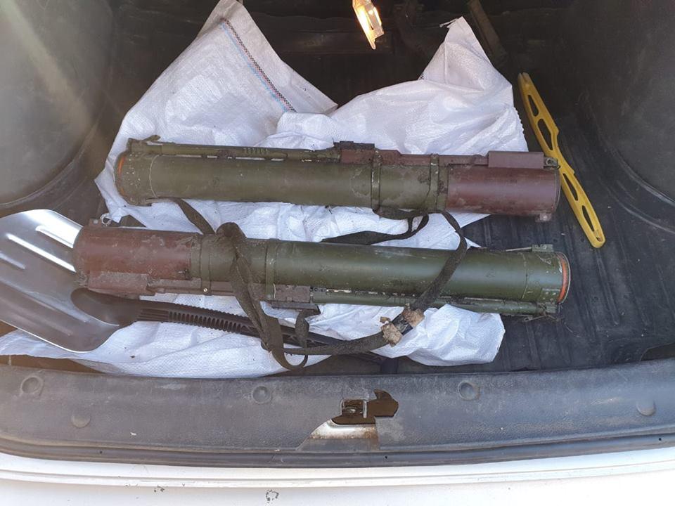 В зоне ООС бывший солдат пытался продать два гранатомета