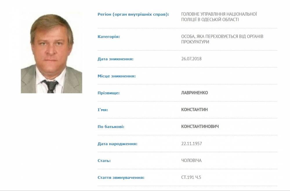 Афера с ремонтом причалов в Черноморском порту: экс-директор снова в розыске