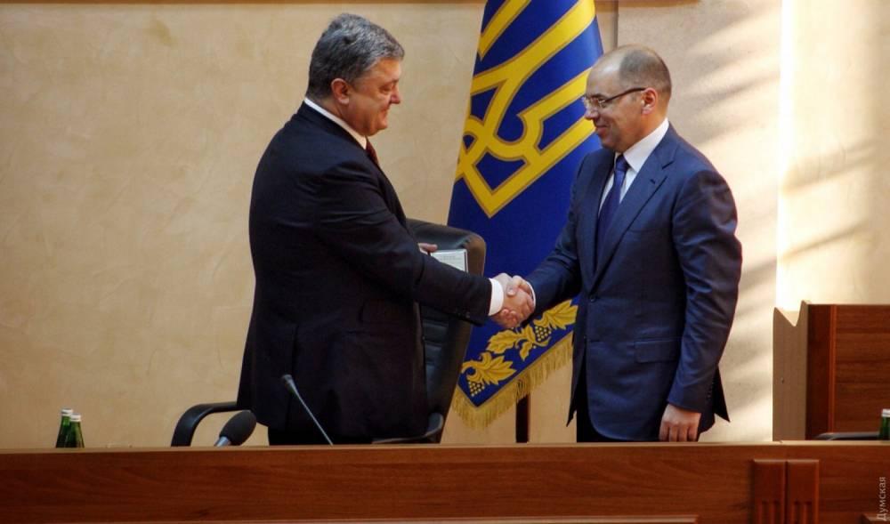 Президент отправил главу Одесской области в отставку