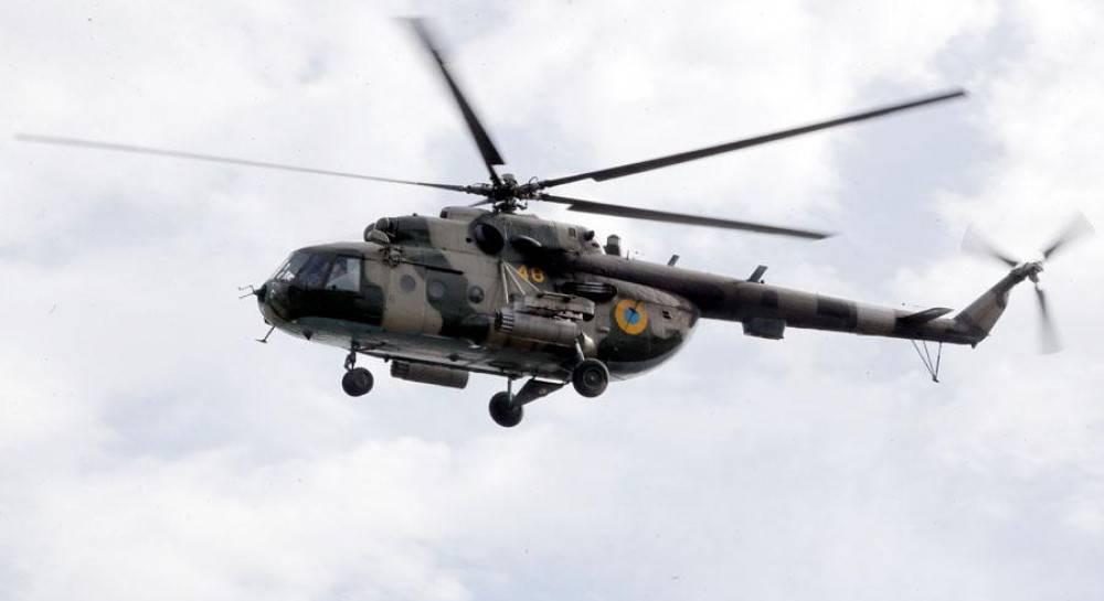 При крушении военного вертолета в Ровенской области погибло пять человек