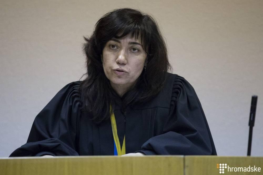 ВСП отменил увольнение скандальной судьи, освободившей Саакашвили