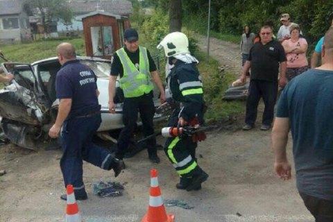 В окрестностях Коломыи полицейский устроил аварию с двумя погибшими