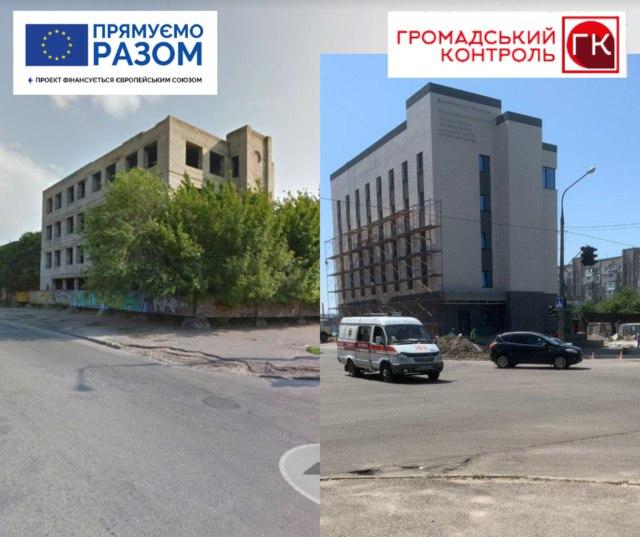 Запорожский горсовет продал частным фирмам участки, где шло незаконное строительство