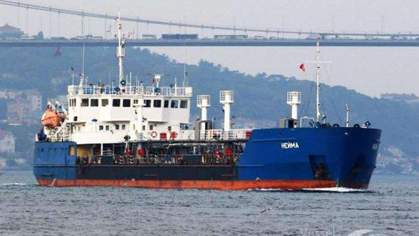 В Измаиле СБУ задержала танкер, блокировавший украинские корабли в Керченском проливе