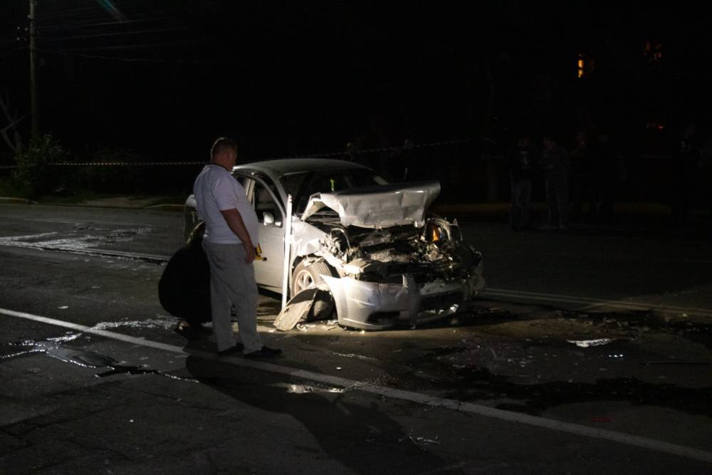 В Боярке в аварии разбился сотрудник Госохраны