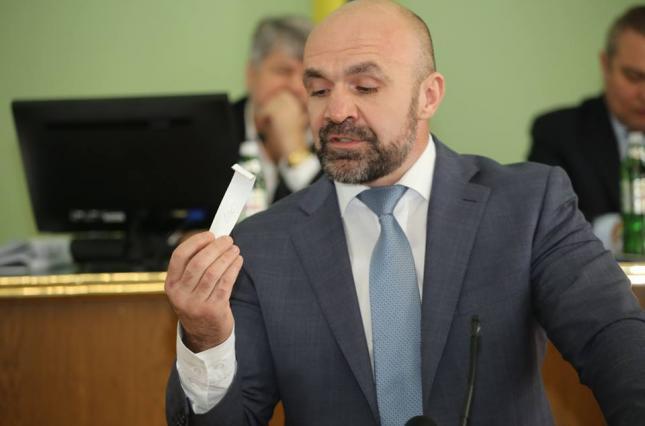 Главу Херсонского облсовета арестовали без залога