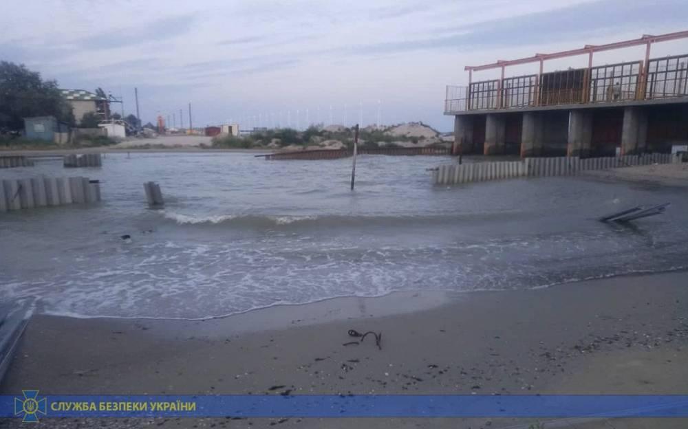 Уничтожение канала в Черное море: депутата Одесского облсовета арестовали с залогом в два миллиона гривен