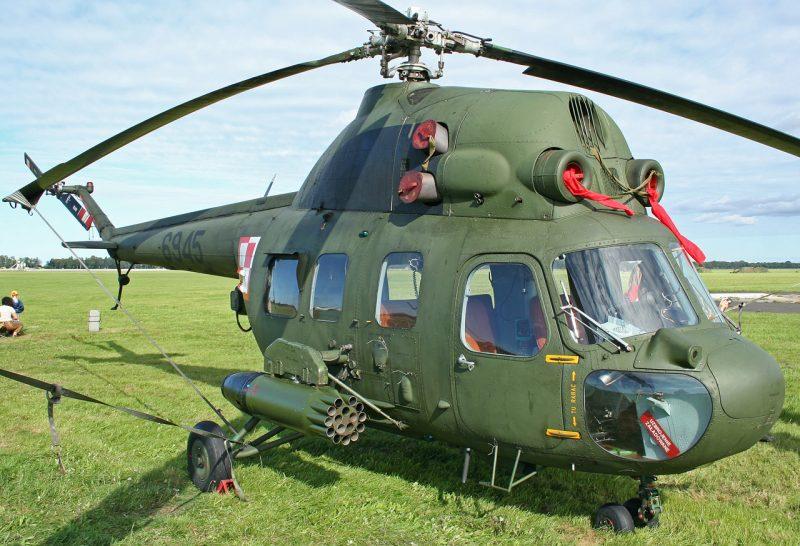 В Бродах при взлете упал вертолет