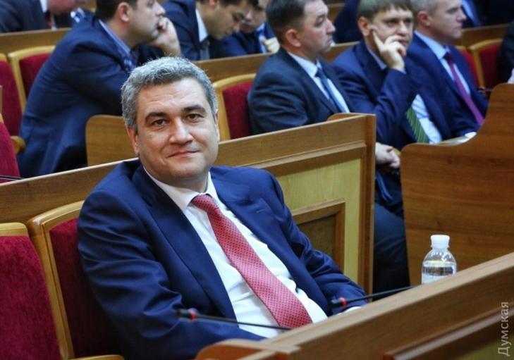 Глава Одесского облсовета попал в прицел ГБР