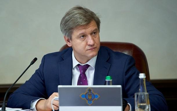 В декларациях главы СНБО Данилюка обнаружили нарушения