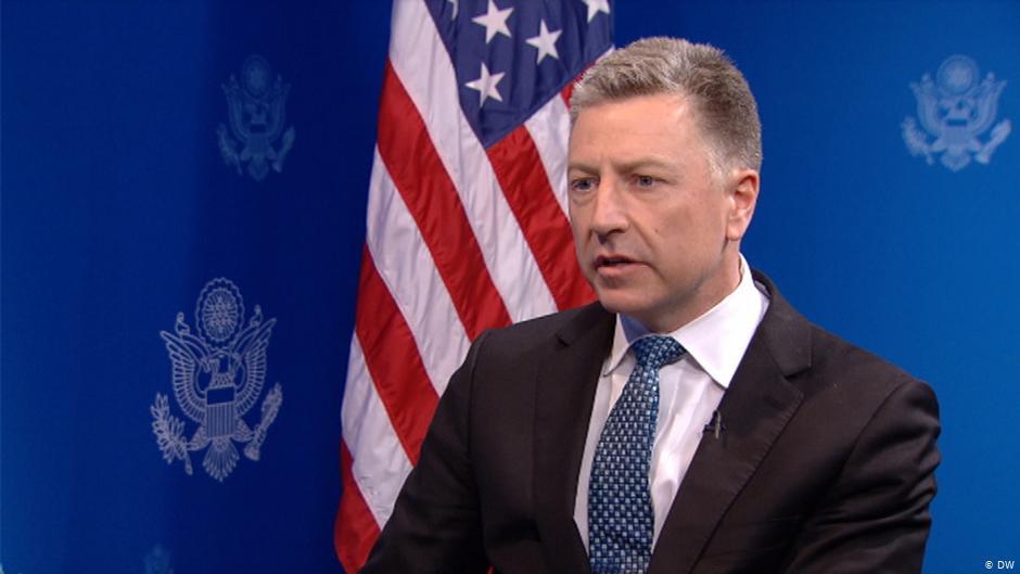 Представитель США по Украине Волкер ушел в отставку
