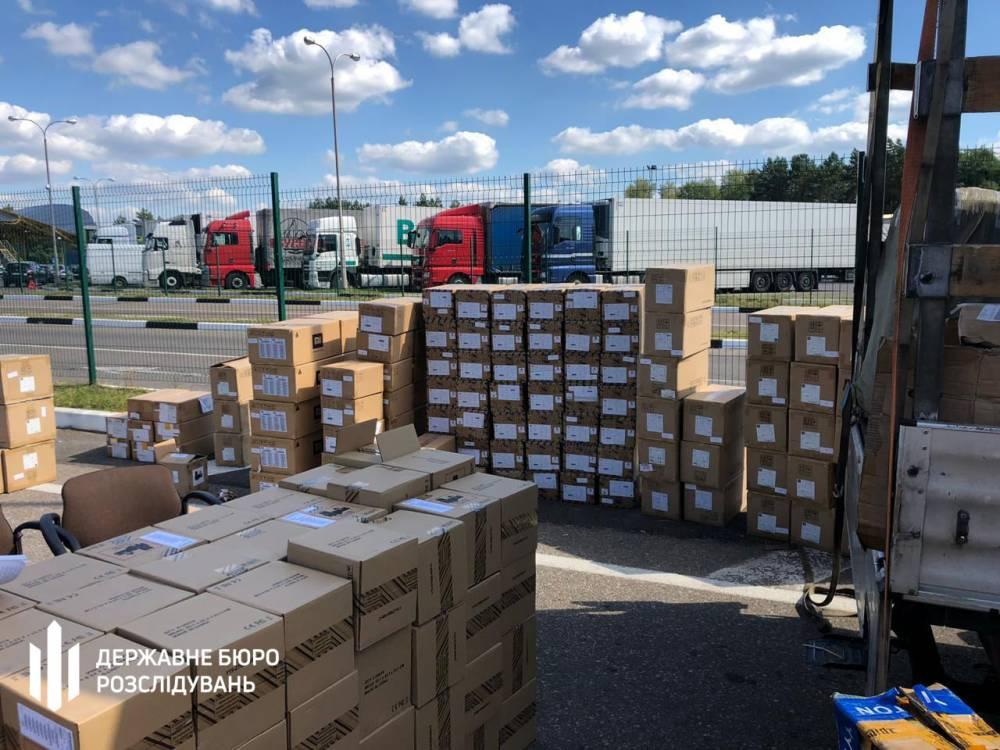 Волынские таможенники содействовали незаконной перевозке товаров на полмиллиона долларов