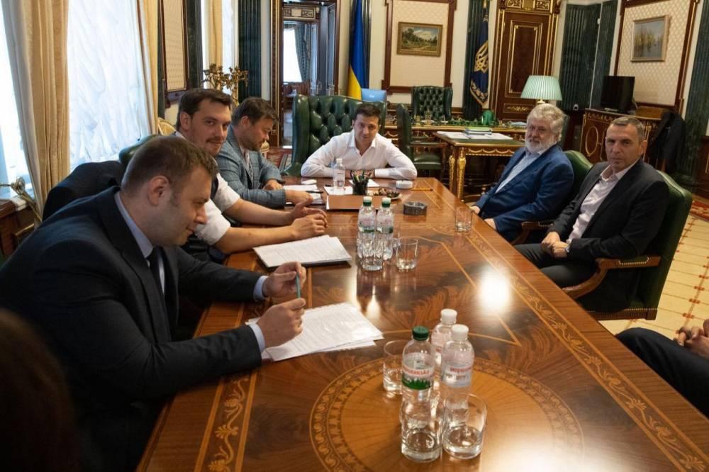 Президент уверяет, что не допустит монополии Коломойского