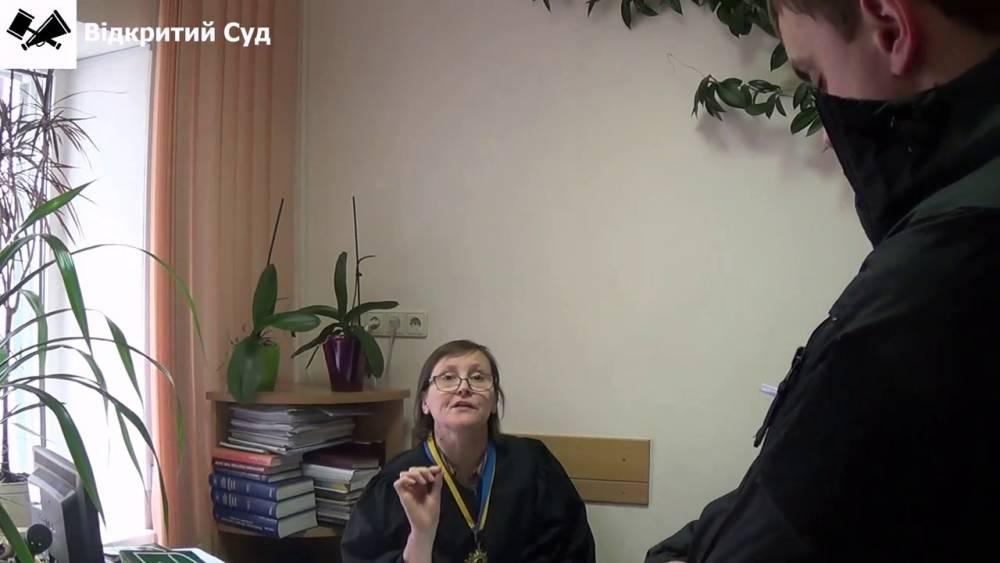 Судья Голосеевского суда заявила о преследовании и давлении