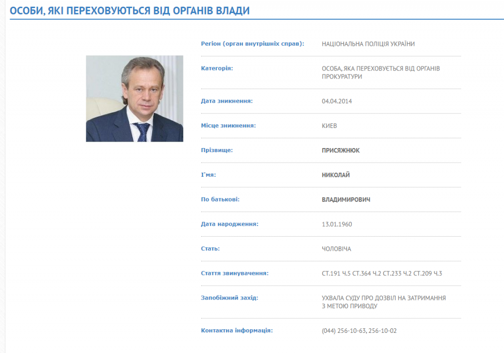 prisyazhnyuk 1000x701 - Виталий Трубаров вне подозрений?
