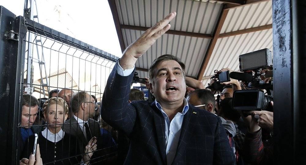«Военное» преступление: у Чумака занялись историей с выдворением Саакашвили из Украины