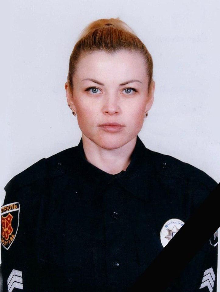 В Лубнах при оформлении ДТП погибла инспектор патрульной полиции