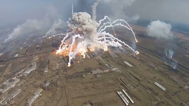 Взрывы на арсенале в Балаклее: горсовет получил 20% «отката» при восстановительных работах