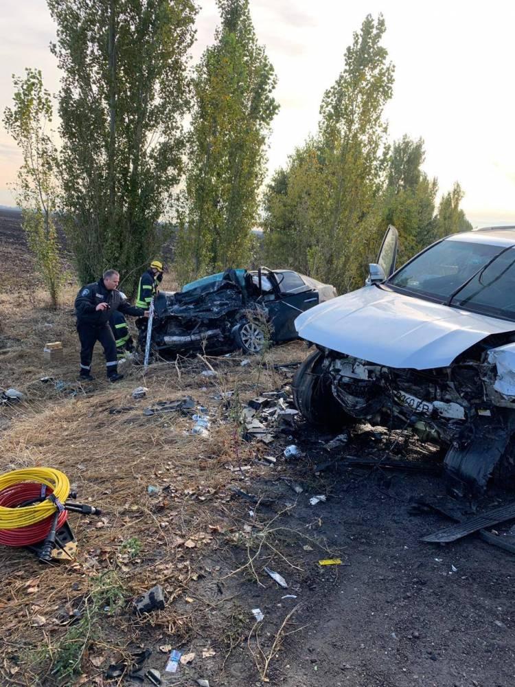 Смертельное ДТП: погиб замначальника полиции Николаевской области