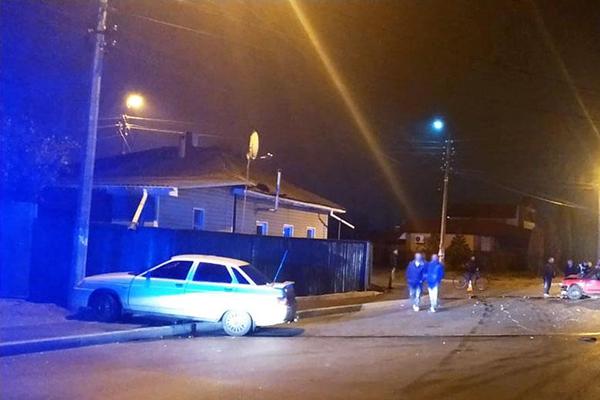 В Нежине полицейский стал виновником ДТП
