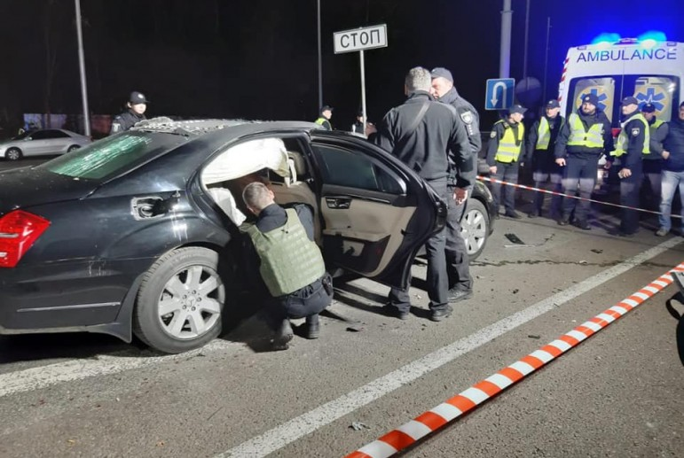 В Киеве пытались взорвать крупного бизнесмена, погиб полицейский