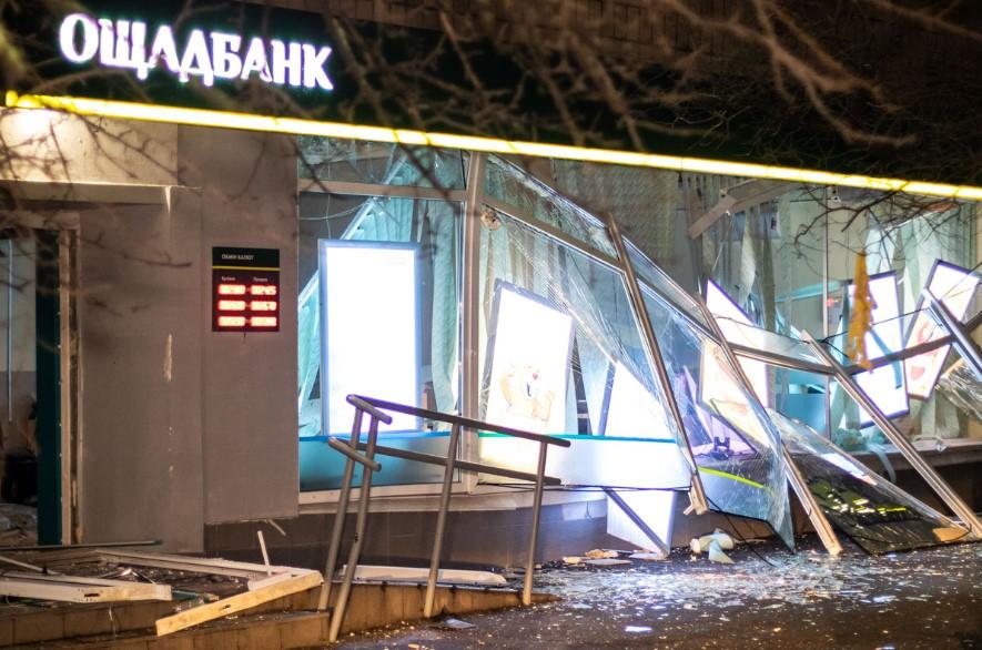 Полиция поймала бандитов, взовравших отделение «Ощадбанка» в Киеве