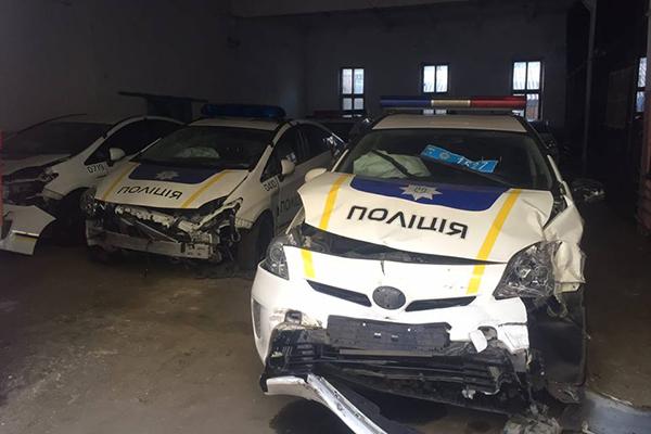 Кабмин выделил полиции полмиллиарда на новые автомобили