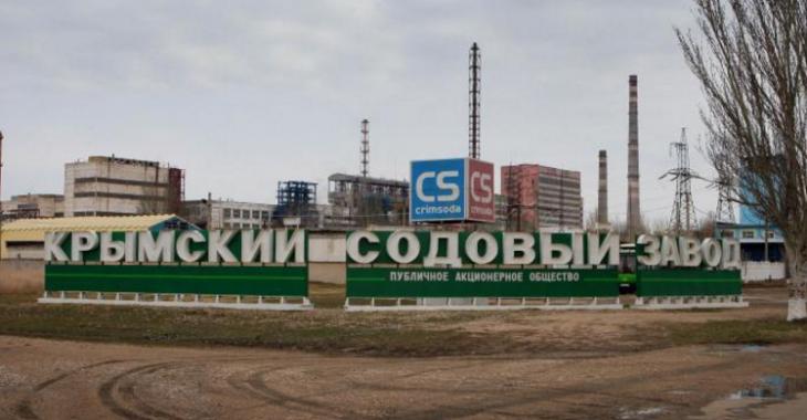 Крымский завод Фирташа накачал рапы из Сиваша на 30 млн гривен