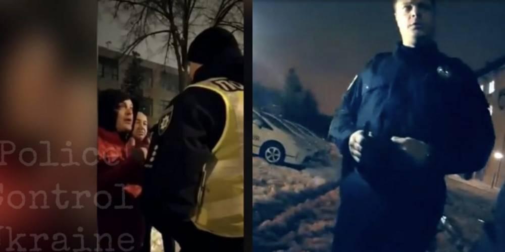 Известного харьковского полицейского с дракой задержали на пьяном вождении