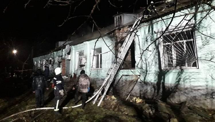 ГБР открыло дело против спасателей из-за пожара в Старобельском интернате