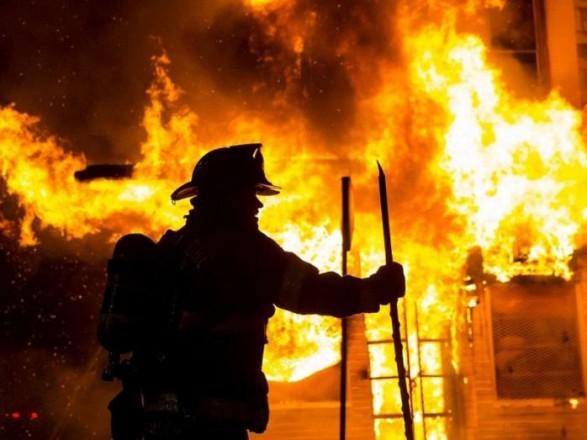 В воинской части в Дачном произошел пожар