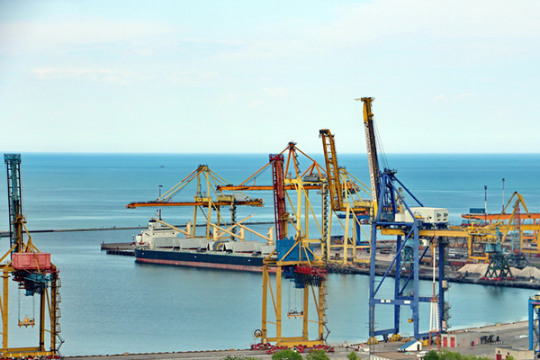 Черноморский порт ожидают убытки в 150 млн гривен
