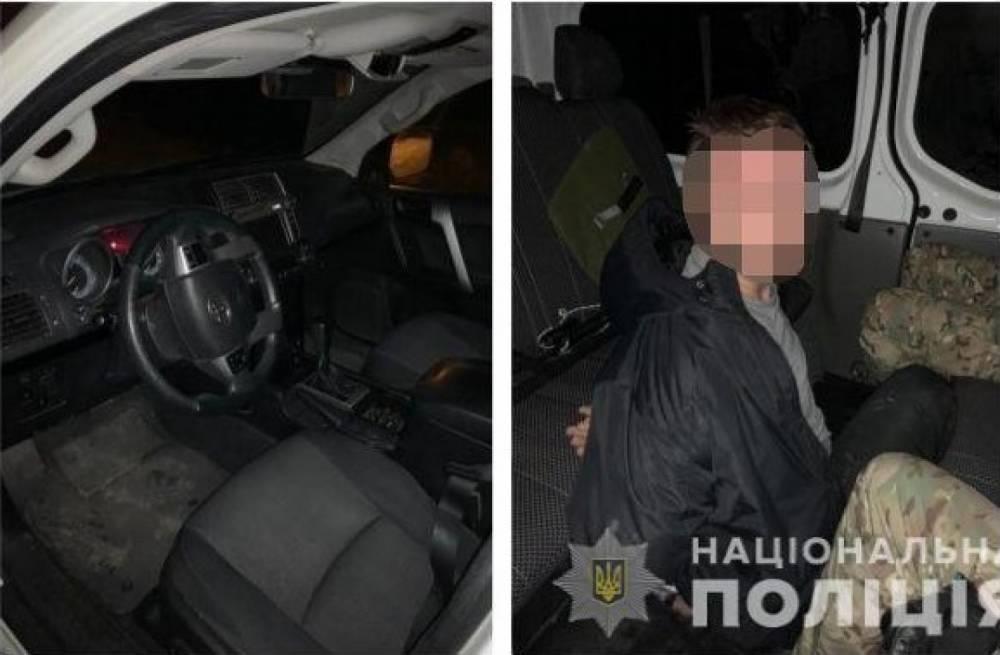 ВОдессе экс-полицейские воровали элитные автомобили