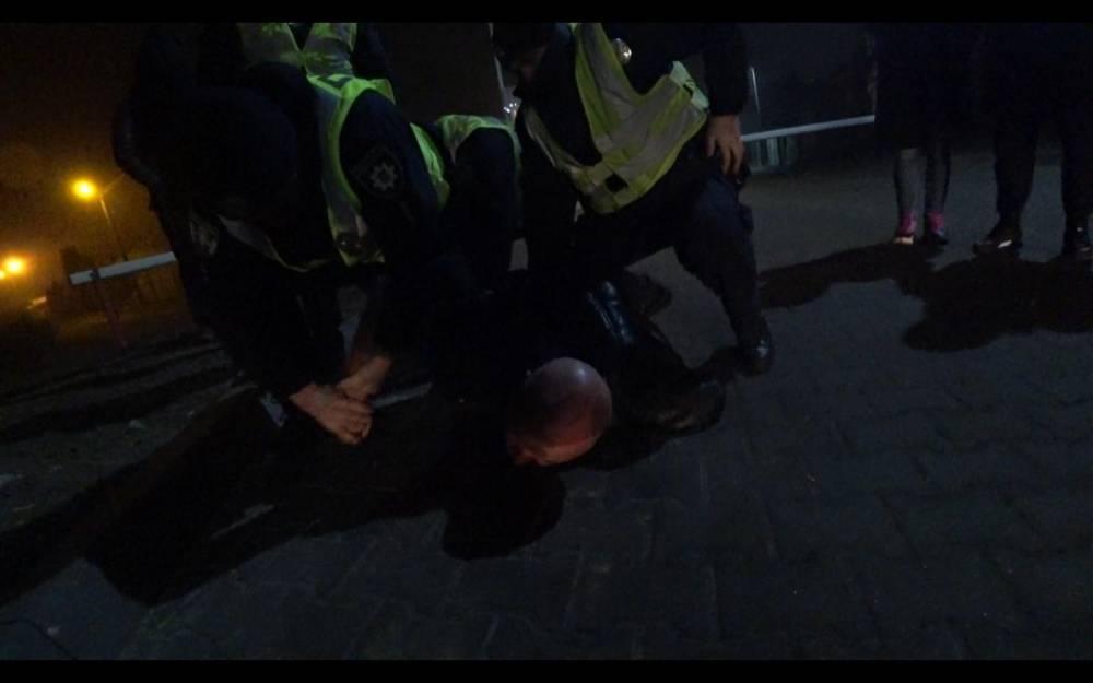 В Киеве поймали пьяного экс-главу ГАИ