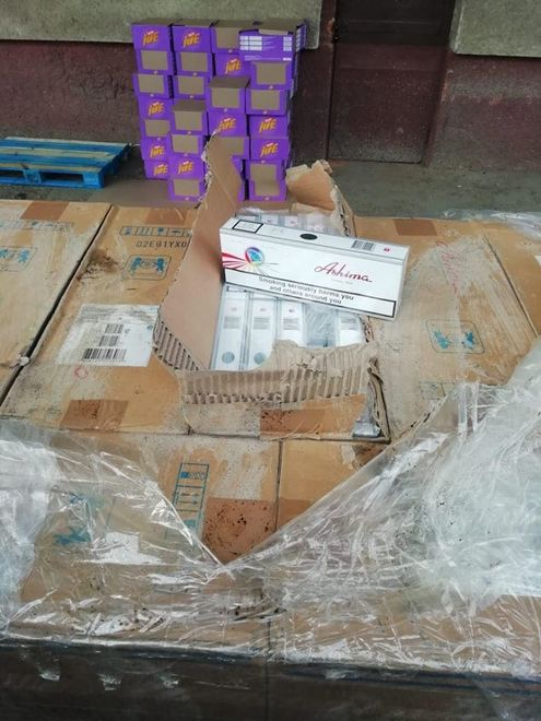 Из Украины пытались вывезти контрабандные сигареты на полмиллиона долларов