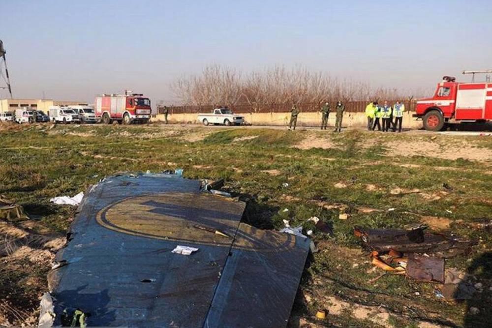 Иран обнародовал первый отчёт о расследовании крушения самолета МАУ