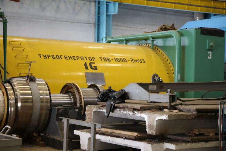 Хмельницкая АЭС заказала ремонт турбогенератора General Electric за 4 млн евро