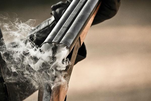 В Нововасильевке пьяный мужчина угрожал полицейским оружием
