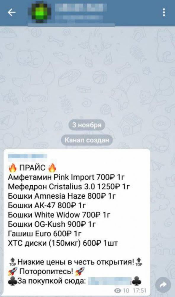 В Мариуполе разоблачили канал сбыта наркотиков через Telegram на сумму около 1,5 млн гривен