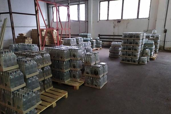 Черниговский ликеро-водочный завод производил тонны контрафактного алкоголя