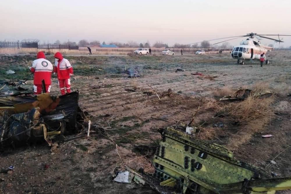 Украинский пассажирский Boeing 737 разбился в Тегеране: пассажиры и экипаж погибли