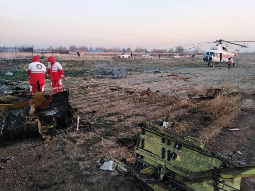 Иран признал, что военные сбили украинский самолет